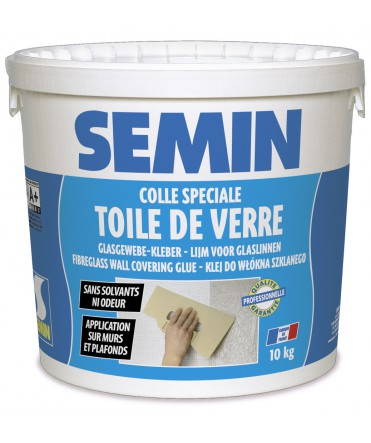 COLLE TOILES DE VERRE EN SCEAU DE 10 KGS